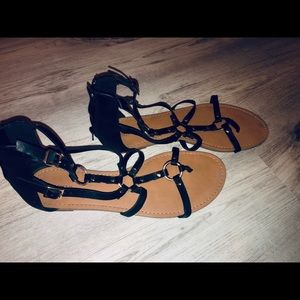 Greek style sandals